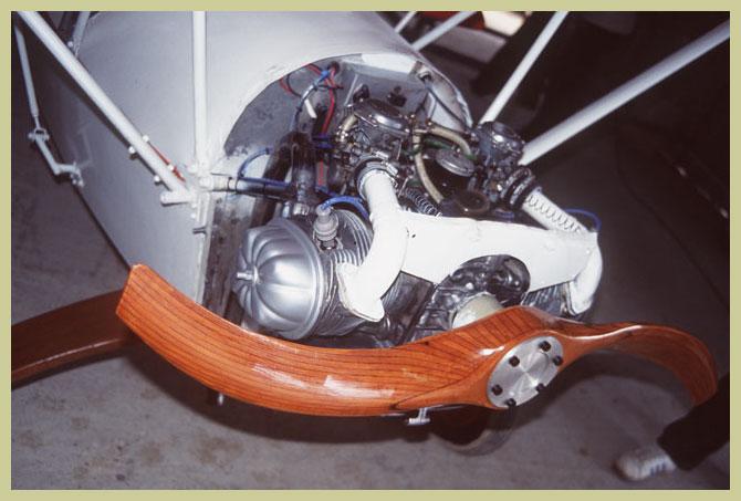 Transmisión Motor <-> Hélice en directo y via reductora Cim05